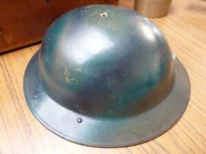 WW2 British Army Brodie Helmet