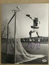 Gary Gait Signed Oversized 11x14 Photo Great Pose Air Gait Syracuse Psa