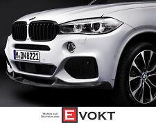 JS BMW X5 F15 M Parachoques Delantero Rejilla Rejilla cerrada-derecha