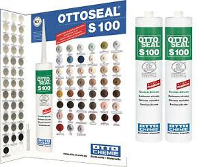 Ottoseal S100 Otto Chemie Sanitärsilikon ALLE Farben Sanitär Fuge 300ml Silikon