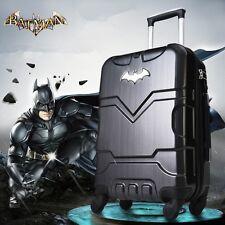 "28"" Batman Luxury Deluxe Black Suitcase Luggage baggage Travel Bag Trolley"