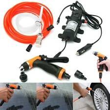 12 Volt Portable Car Hi Pressure Washer Water Pump Set Jet Wash Cleaner Hose Van