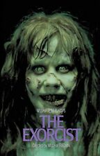 """THE EXORCIST Movie Poster Horror Satan Possesion Occult Wall Silk Vintage 24X32"""""""