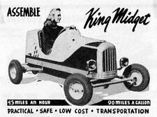Old Photo. 1948 King Midget - ASSEMBLE King Midget - Automobile Ad