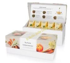 TEA Fortè GARDEN HARVEST white BIO box 20 filtri piramide tè bianchi alla frutta