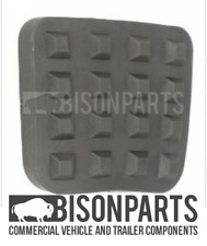 *FITS IVECO TECTOR 75E15 & 17 PEDAL RUBBER PAD BRAKE & CLUTCH 8138107 BP127-367