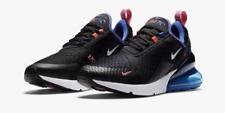 Nike Air Max 270 Black White Astronomy Blue DC1858-001 Running Shoes Men's NEW