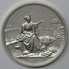 Vatican 1911 Pius X Silver Papal Medal Vatican Observatory