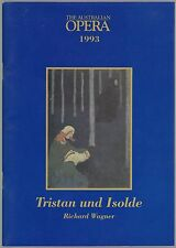 The Australian Opera 1993 Program - Tristan und Isolde - Richard Wagner