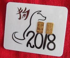 (2X) 2 GRAM 24K GOLD BAR TGR PREMIUM BULLION 999 INGOT 2  DAY DELIVERY CERT#7502