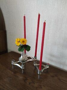QUIST  Nagel *BMF* Spaceage Vintage  Module Kerzenhalter *70iger * Vase * Shabby