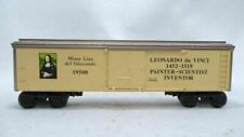 Lionel 6-19508, Leonardo Da Vinci Inventors Series Reefer, New in Box, C-9   /gn