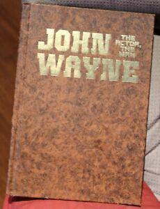 John Wayne The Actor The Man HC Book 1979