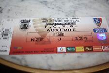 TICKET )) FC NANTES V AUXERRE AJA )) Saison 2003/2004 1/2 Coupe de France