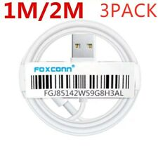 3-PACK 3/ 6FT USB Data Charger Cables Cords For Apple iPhone 5 S 6 7P 8 X Plus