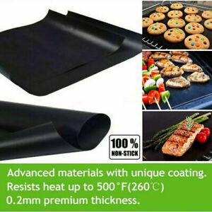 OVEN LINER Heavy Duty Teflon Protector Sheet Mat Non Stick Cooker BBQ 50cm x40cm