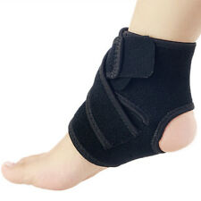 Safety Black Foot Drop Orthosis Brace Aluminum Splint Plantar Fasciitis Ankle