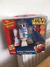 Mr Potato Head Star Wars Artoo Potatoo With Princess Tater Boxed