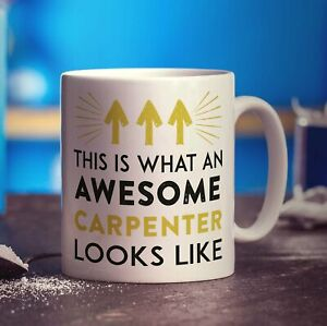 This is What an Awesome Carpenter Looks Like Mug