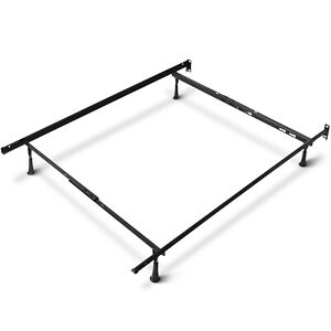 Adjustable Platform Bed Frame for Twin Full Queen Box Spring and Mattress Set