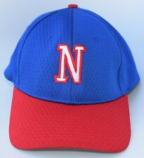 """N"" Baseball Cap Hat Size M/L Stretch Fit 100% Polyester 6-Panel by RICHARDSON"