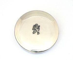 Rampant Lion Pewter Trinket Jewellery Pill Box Ladies Scottish Gift 294
