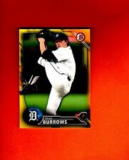 2016 BOWMAN YELLOW RETAIL PAPER PARALLE BEAU  BURROWS DETROIT TIGERS  #BP76 nrmt