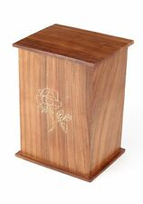 CLEARANCE ROMSEY WOODEN ASHES URN 250CI
