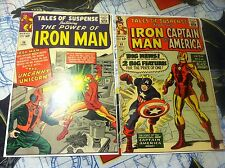 Tales Of Suspense #56 #59 Captain America Begins 1st appearance Unicon