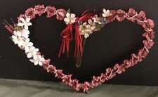 Rustic Heart - Handcrafted Metal Art/Decor. ONE OF A KIND! Hang All Year Long!!