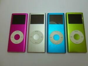 FAULTY Apple iPod Nano 2nd Gen (4GB) MP3 Media Player spares repair Model A1199