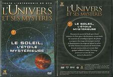 DVD - L' UNIVERS ET SES MYSTERES : LE SOLEIL, L' ETOILE MYSTERIEUSE / COMME NEUF