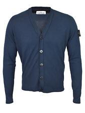 Stone Island Navy Blue Knit Cardigan BNWT RRP £275
