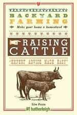 Backyard Farming: Raising Cattle for Dairy and Beef Book~Cow Care~Shelter~NEW