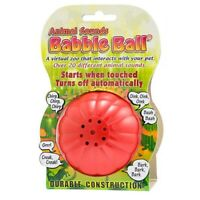 Babble Ball Interactive Animal Sounds Dog Toy Large 8cm Diameter NEW