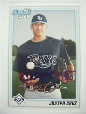 JOSEPH CRUZ signed RAYS 2010 Bowman Prospects baseball card AUTO WEST COVINA CA