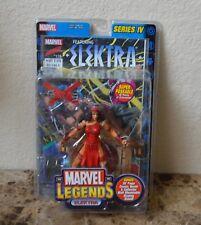 Elektra Figurine Articulée Séries IV 4 Marvel Legends 2003 Jouet Biz MIB