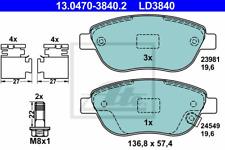 Bremsbelagsatz Scheibenbremse ATE Ceramic - ATE 13.0470-3840.2