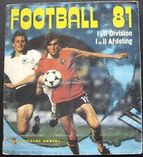 100% COMPLETED PANINI BELGIUM FOOTBALL 1981 STICKER ALBUM
