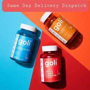 Goli ASHWAGANDHA Superfruits & ACV (60 Gummy/bottle) Same Day delivery dispatch