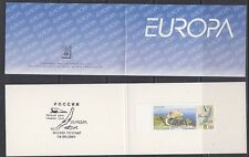 Europa Cept 2001 Russia booklet ** mnh (A512 ) Water