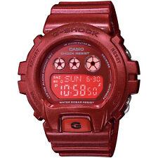 Casio G-Shock Womens Wrist Watch GMDS6900SM-4 GMDS-6900SM-4 Red Digital New