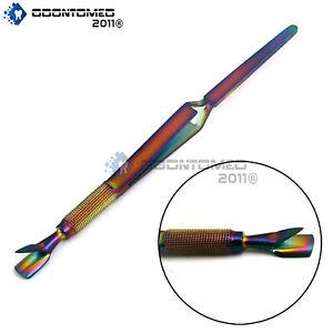 CUTICLE NAIL PINCHER Multi Function Magic Wand C CURVE Acrylic Rainbow Pusher