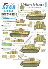 Star Decals 1/35 SS TIGERS IN FRANCE Part 4
