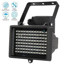 96 LED Night Vision IR Infrared Illuminator Light For CCTV Camera Black W2U2
