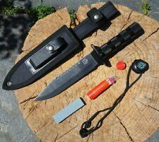 Multifunktionsmesser Leichtmetallgriff Survival Set Outdoor Messer Rambo 8601