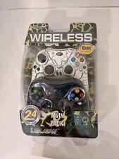 Twin Pack Xbox iGlow Wireless Controller Dreamgear DGXN-741 Xbox 2.4 GH NIB