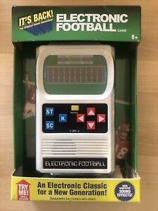 Mattel Classic Football Electronic Hand Held Retro Brand New Sealed!