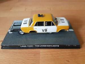Die Cast LADA 1500 from THE LIVING DAYLIGHTS James Bond 007 New & Boxed.