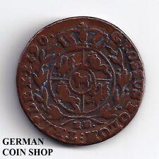 Trojak koronny 3 Groescher Groszy Kupfer 1790 Stanislaus Augustus - Polen Poland